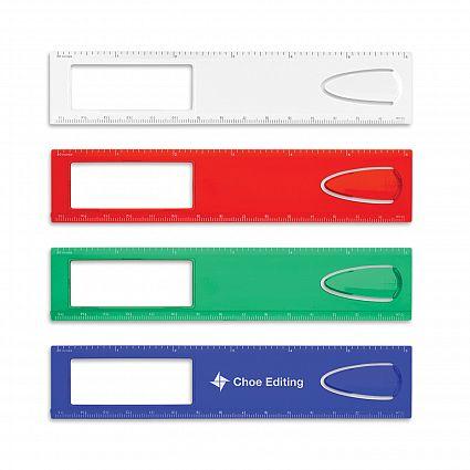 Bookmark Magnifier Ruler