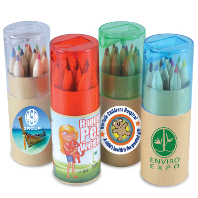 Colouring Pencil Tube