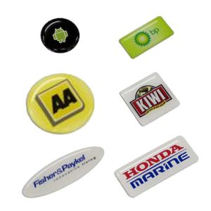 Resin Coated Adhesive Labels