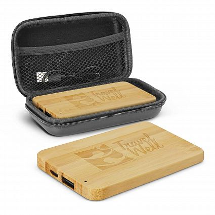 4000mAh Bamboo Power Bank