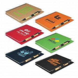 Kraft Notebook with Pen