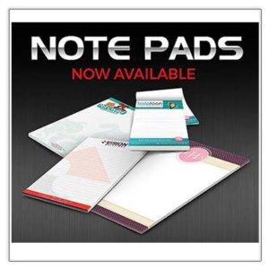 Printed Note Pads 50 Leaves