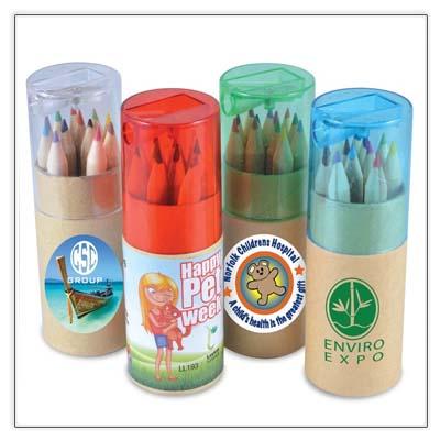 Colouring Pencil Tube
