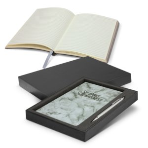 Marble Notebook & Pen Gift Set