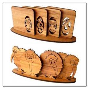 Kiwiana Coasters
