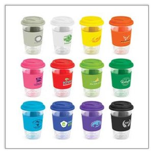 Glass Double Wall Coffee Cup